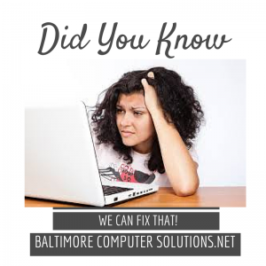 Computer Repair Baltimore Md